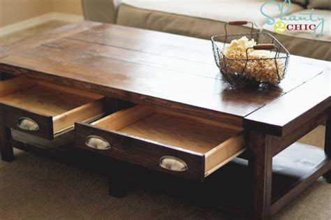 Diy Pottery Barn Inspired Benchwright Coffee Table