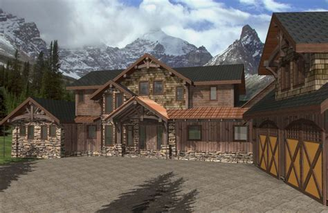 Tamaric Timber Frame Plans ? 7801sqft ? Streamline Design
