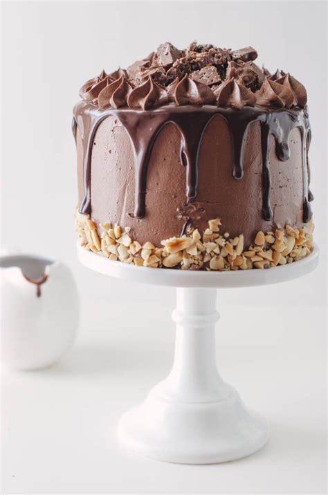 crack brownie layer cake  cake merchant