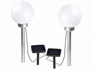 Leuchtkugeln Garten Solar : lunartec solar leuchtkugel 2er set solar led leuchtkugeln rotierender effekt erdspie 20 ~ Sanjose-hotels-ca.com Haus und Dekorationen