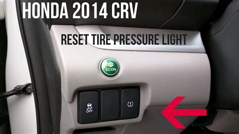 how to clear tire pressure light on toyota camry honda crv 2014 how to turn off a tire pressure warning