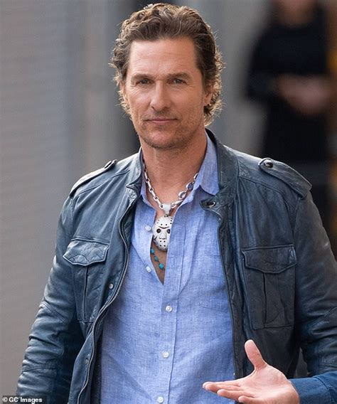 Matthew Mcconaughey Shows Off Touch Terror