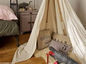 Tipi Chambre Garçon : deco chambre garcon kaki ~ Teatrodelosmanantiales.com Idées de Décoration