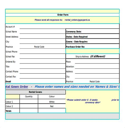 simple order form template 19 order confirmation templates free sle exle format free premium templates