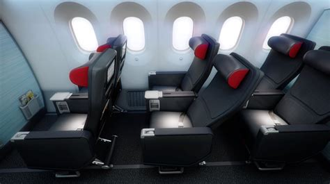 siege a380 emirates air canada showcase 787 interior thedesignair