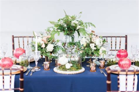 Wedding Decoration Blue And Gold Images   Wedding Dress, Decoration And Refrence