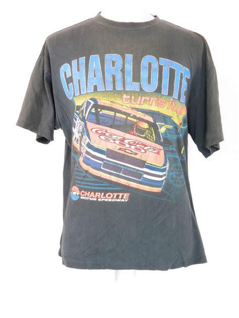 vintage nascar charlotte motor speedway  shirt  star