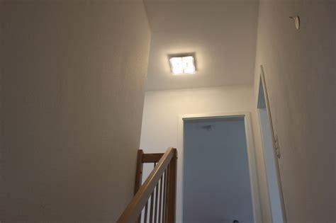 led deckenleuchte flur led leuchte mit optimaler ausleuchtung f 252 r treppe und flur wir bauen dann mal ein haus
