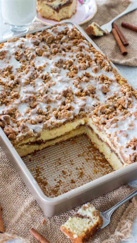 You can freeze the sponges if you want to save time later on. easy homemade coffee cake in 2020   Best coffee cake recipe, Coffee cake recipes easy, Coffee ...