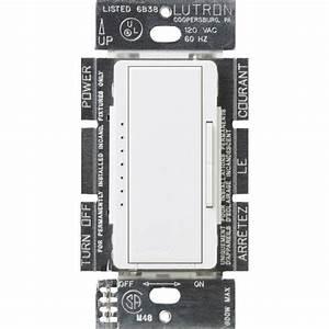 Lutron Maestro 600-watt Multi-location Electronic Low-voltage Digital Dimmer