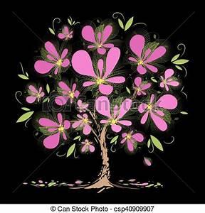 Rosa Blüten Baum : rosa bl ten baum bl hen rosa kunst bl hen baum schwarzer hintergrund blumen ~ Yasmunasinghe.com Haus und Dekorationen