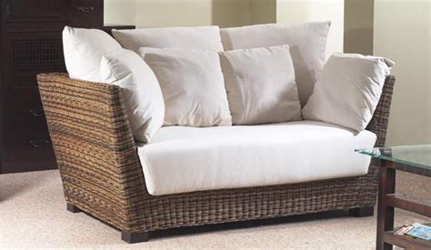 Conservatory Settee by Prado Conservatory 2 Seater Sofa Rattan Contemporary