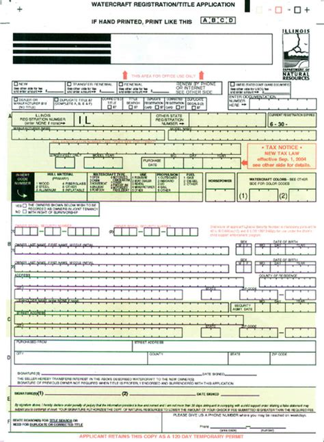Dnr Boat Registration by Dnr Not Mailing Boat Sticker Applications Mchenry County
