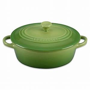 Le Creuset Cocotte : le creuset 12 oz mini oval stoneware cocotte in palm bed bath beyond ~ Buech-reservation.com Haus und Dekorationen