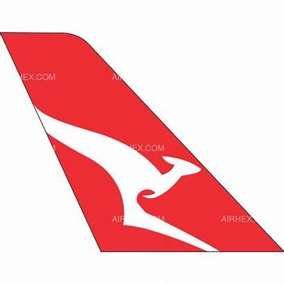 Qantas Tail Westjet Encore Airline Logos Airhex