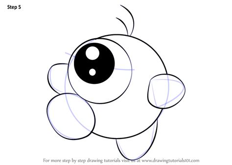 learn   draw waddle doo  kirby kirby step  step drawing tutorials