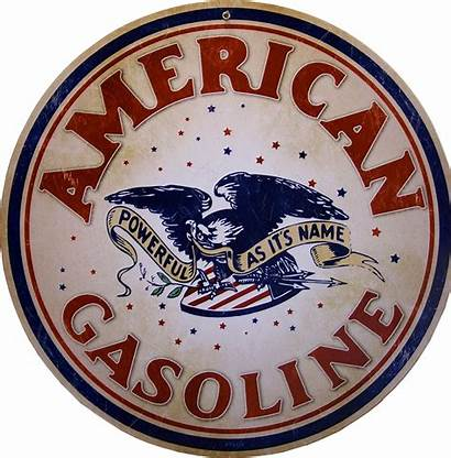 Signs Gas Gasoline Bensin Texaco Station Round