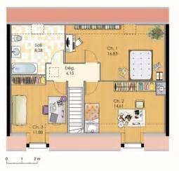 Plan De Maison 3 Chambres A Etage by Maison Bbc Avec 3 Chambres 224 L 233 Tage Plans Maisons