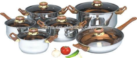 Induction Cookware Set Stainless Steel Cooking Pan And