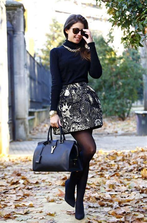 Womenu0026#39;s Black Turtlenecks Outfit Ideas 2018 | FashionTasty.com