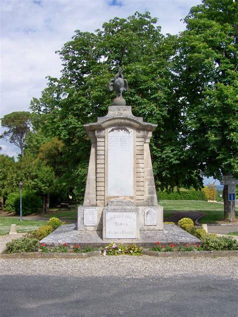 panoramio photo of sainte croix du mont monument aux morts