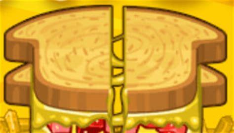 jeux de cuisine de papa louis les sandwichs de papa louie jeu de cuisine jeux 2 cuisine