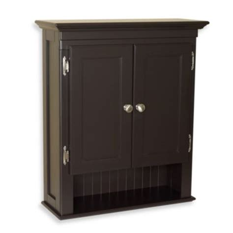 buy espresso cabinets from bed bath beyond