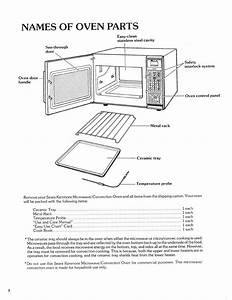 Page 8 Of Kenmore Convection Oven 87561 User Guide