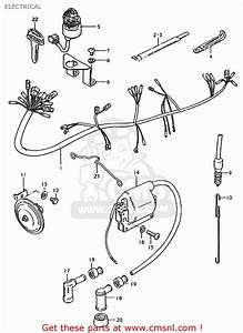 Suzuki Jr50 Wiring Diagram