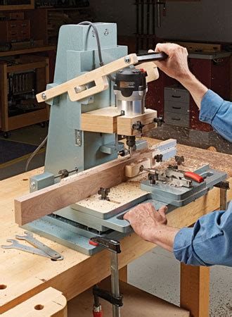 router mortising machine woodsmith plans