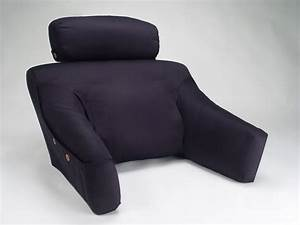 Bedlounge back support pillow w cover bedlounge for Best back support pillow for bed