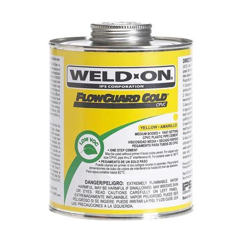 Weldon Flowguardgold 16 Oz Cpvc Low Voc Cement (12pack
