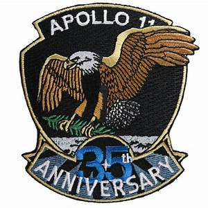 Apollo 11 — 35th Anniversary (Official) – Space Patches