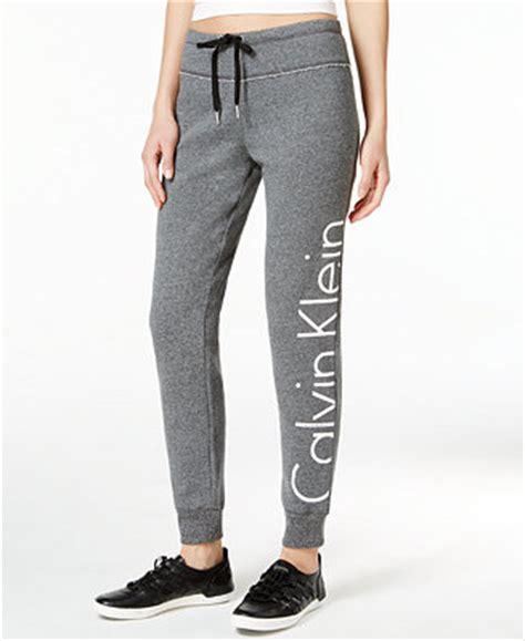 Macys Baby Bedding by Calvin Klein Performance Logo Sweatpants Pants Women