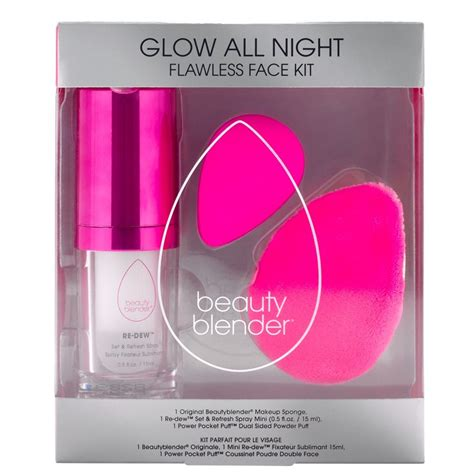 beautyblender glow  night kit beautylish