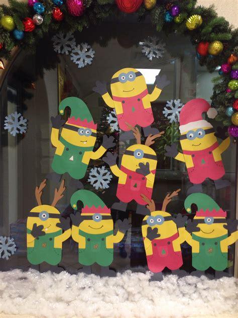 christmas minions wall decoration christmas minion