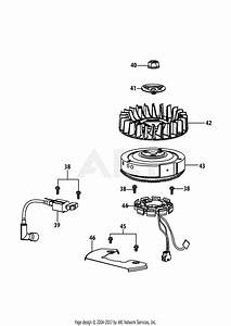 Mtd 13a2775s000  2014  Parts Diagram For 4p90jub Ignition