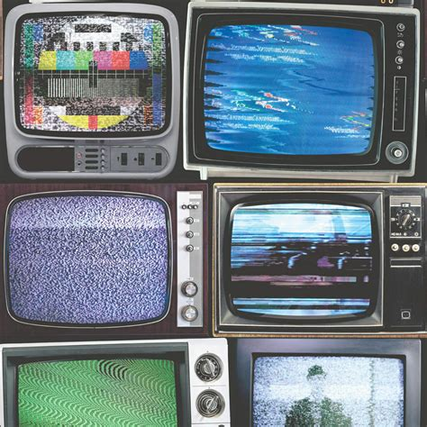 muriva  tvs retro television tv screens wall