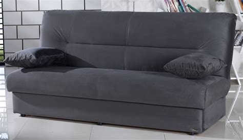 dark gray sofa bed regata dark gray microfiber sofa bed with storage
