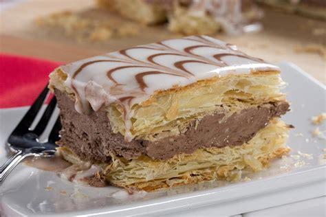 Chocolate Napoleons   MrFood.com