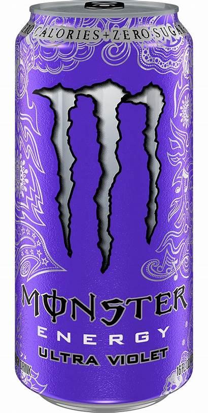 Monster Ultra Violet Energy Oz Fl Cans