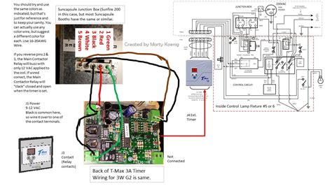 Wiring Diagram For Tanning Bed by Wrg 6273 Tanning Bed Timer Wiring Diagram