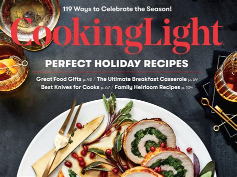 Light Cooking Recipes by Cooking Light Current Issue