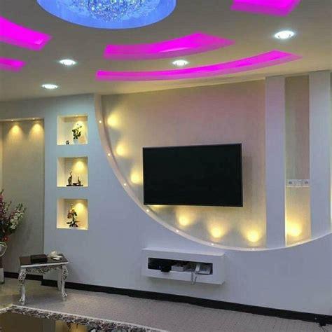 tv ntesi tv room design house ceiling design wall tv
