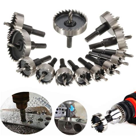 Saw 13pcs By Jualanunik 13pcs high speed steel saw drill bits set 16 53mm
