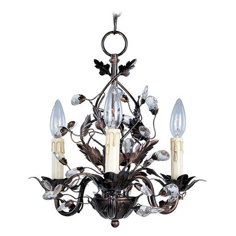 mini bronze chandelier maxim lighting elegante rubbed bronze mini chandelier