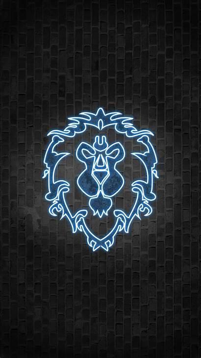 Alliance 4k Portrait Resolution Warcraft Symbol Phone