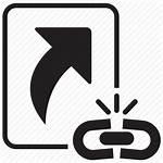 Broken Shortcut Icon Link Break Icons 512px