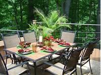 trending patio table decor ideas Outdoor Entertaining Tips for Summer | HGTV