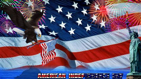 American Independence Day  Wallpaper By Erazhaadzn On